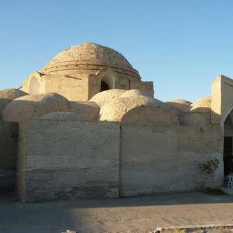 Domes of Bokharan bazaar