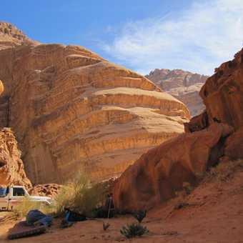Lovely colours - Wadi Rum