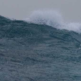 On the crest of a wave