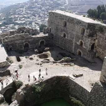 Damascus Museum Courtyard