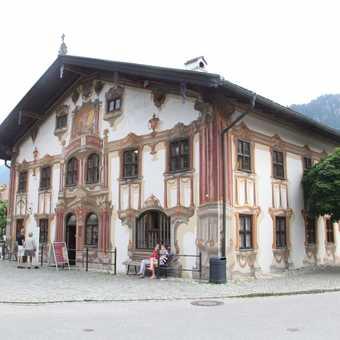 Pilatushause in Oberammergau