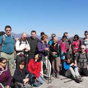 The group inc. Kevin our fabulous guide!
