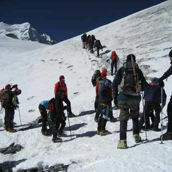 Set off to High camp