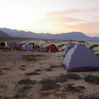 Day 7 campsite
