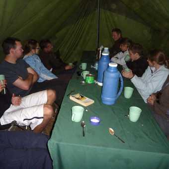mess tent