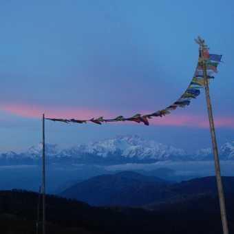Sunset on Kanchenjunga, Sandakphu, Singalila Ridge