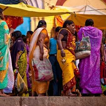Local Varanasi women.