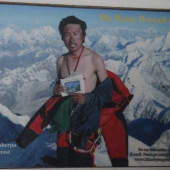 Sherpa on Mt. Everest