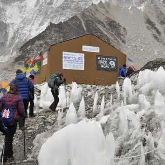 Glacier works - world's highest photography exibition