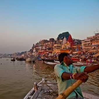 Varanasi street Market.