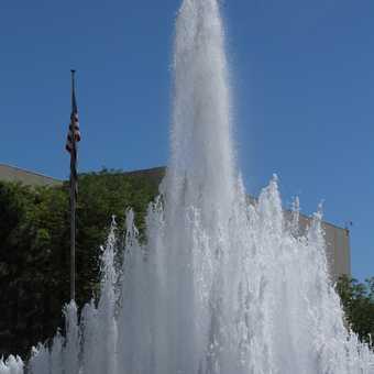 Fountain in Salt Lake City