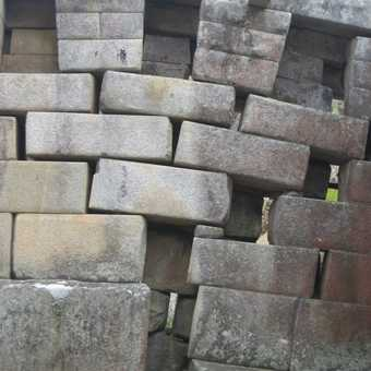 Effect of ground movements over the years at Machu Picchu