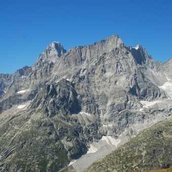 Grandes Jorasses above Grand Col Ferret