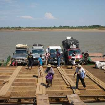 Ferry over the Tsiribihina River