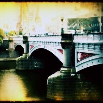 Princess Bridge, Melb my beautiful city