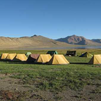 Campsite at Tso Kar.