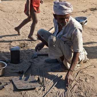 Local village worker, Jaipur