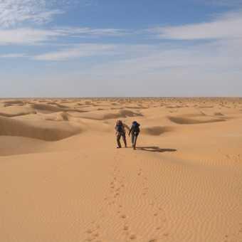 3rd day in the desert trekking