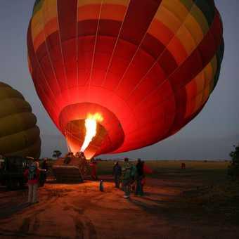 Balooning, Masai Mara.