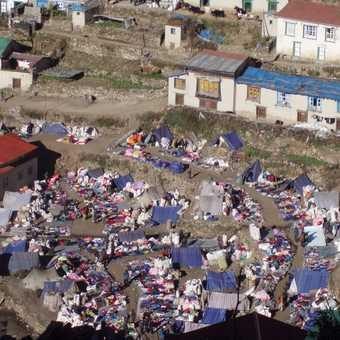 Tibetan market, Namche