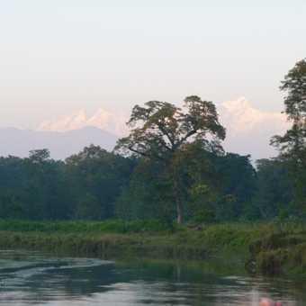 Canoe ride at Chitwan National Park, Nepal