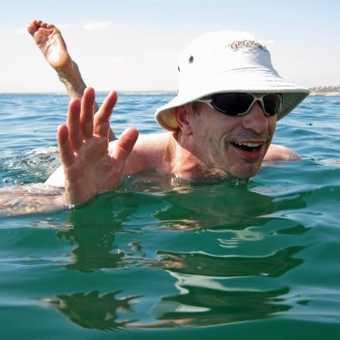 Dead Sea float