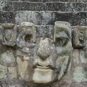 Stone head, Copan