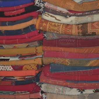 Rugs in the Berber Dept in Merzouga