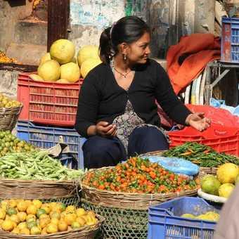 Market, Kathmandu.