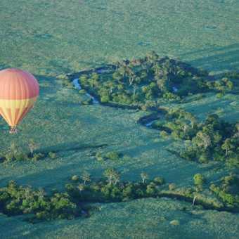 Mara Baloon ride at dawn