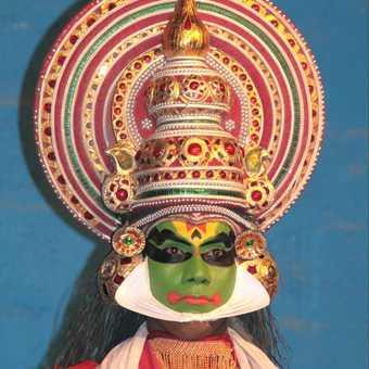 Kathakali Dancer, Thekkady-Kumuli, Kerala