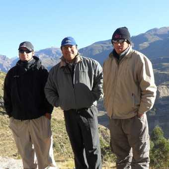 the men who made our trip possible,great guide and drivers.