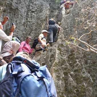 Climbing in the Tsingy
