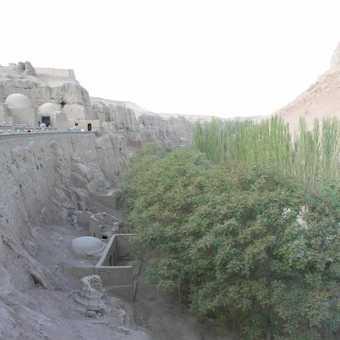 old cities near Turfan