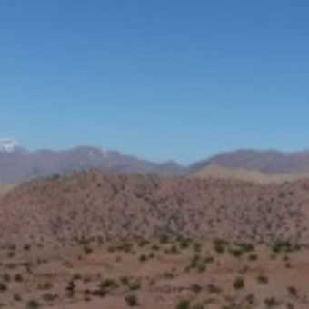 A Panorama of the Atlas Mountains
