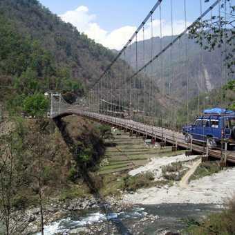 Approaching Sikkim