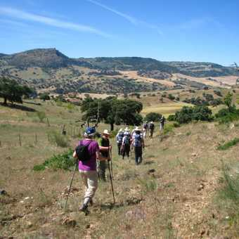 On the way to Canos Santos Monastery