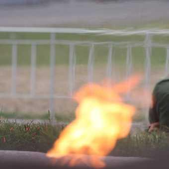 Guarding the revolutionary flame