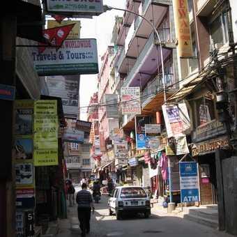 Typical Kathmandu street