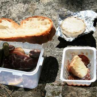 A very tasty packed lunch