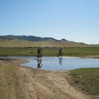 FIRST WATER CROSSING ... BUT NOT THE LAST