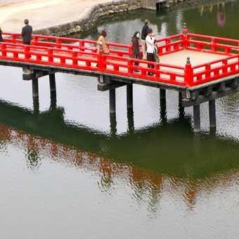 Moat Bridge, Matsumoto Castle