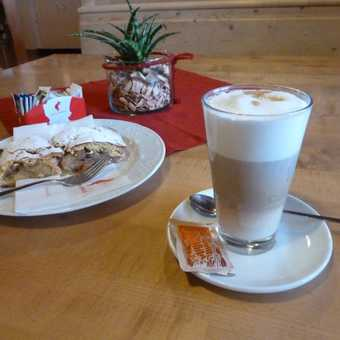 Great coffee and strudel all week