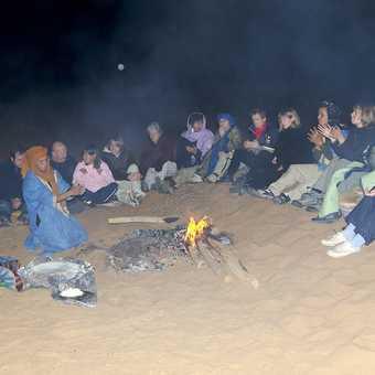 A night in the desert!