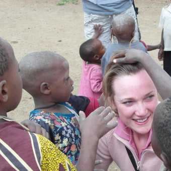 Arusha .... Masai village ..... pair of scissors anyone?