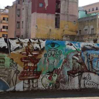 Grafiti in Havana