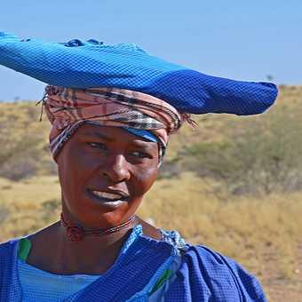 Himba woman, near Twyfelfontein