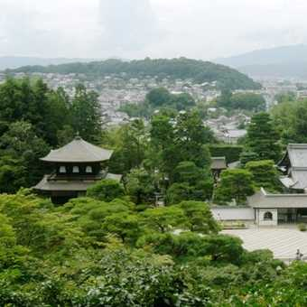 View over Kyoto