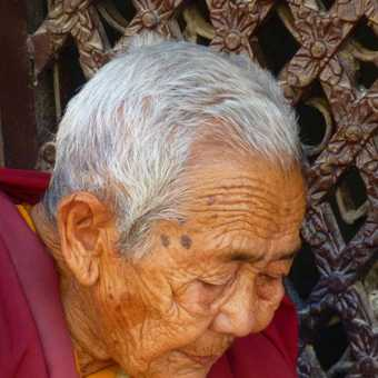 Old Nepalese Lady
