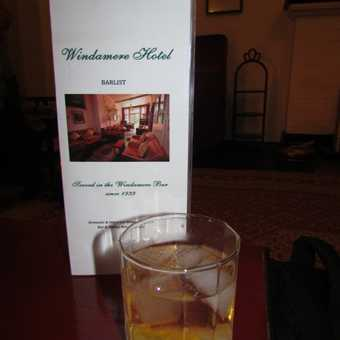 Pink Gin at the Windamere Hotel